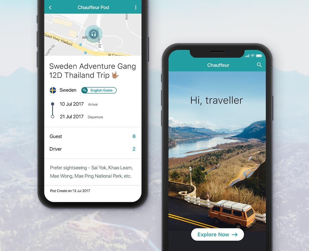 Real-Time Travel App